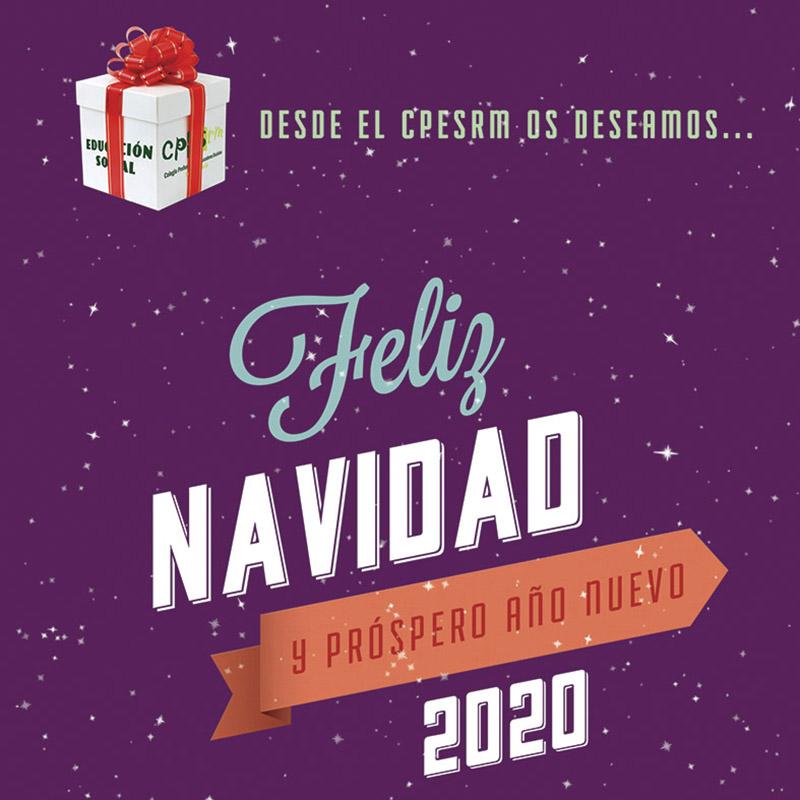 Feliz Navidad y Próspero Año Nuevo 2020